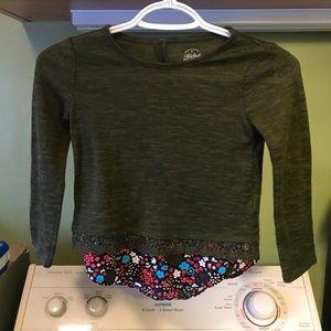 Faded Glory Shirts & Tops - Girls long sleeve blouse